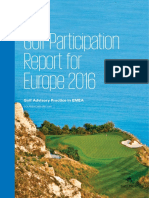 KPMG Golf Participation Report