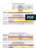 kg1c amt and emt schedules