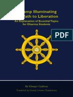A Lamp Illuminating the Path to Liberation 2nd Ed