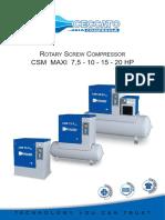 CSM MAXI Compressor
