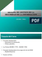 SGSI General - SISTEMA DE GESTION DE LA SEGURIDAD DE LA INFORMACION