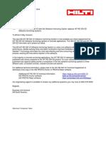 Technical Information ASSET DOC LOC 5508774