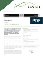 Nevion Cp560 Data Sheet r1513