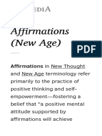 Affirmations (New Age)