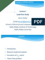 Lecture 1 Load Flow Studies