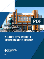 Zugdidi City Council Performance Report_Eng