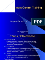 Document Control Training