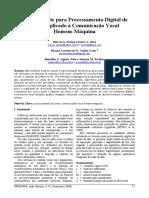 Um Ambiente Para Processamento Digital de Sinais Aplicado à Comunicação Vocal Homem-máquina [Silvana Cunha Costa] [Artigo]