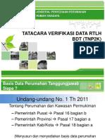 5. Tatacara Verifikasi Data Rtlh Bdt (Tnp2k)