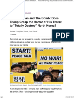 The Caveman and the Bomb_ Does Trump Grasp the Horror of His Threat to _Totally Destroy_ North Korea