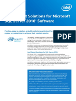 Intel Select SQL Configuration