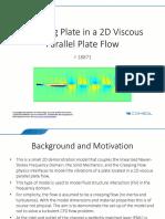 Vibrating Plate 2D Viscous Flow 53