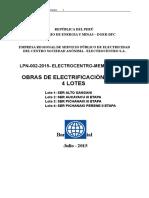 Base 4 Lotes Electrocentro 2015