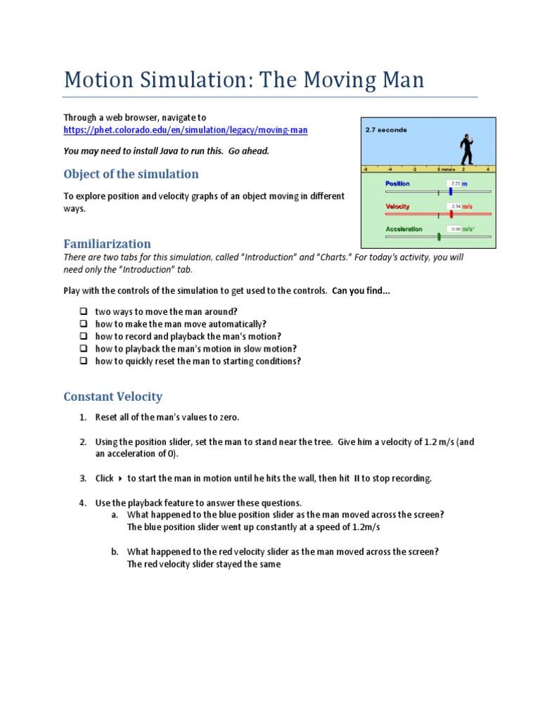 yash kedia - moving man phet simulation tjt | Acceleration