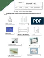 Ficha de Trabalho CN - Material de Laboratório - Corrigida