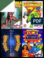 Hero Quest vs Marvel Dic Heros Cartas a4