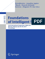 Foundations of Intelligent Systems - Proceedings