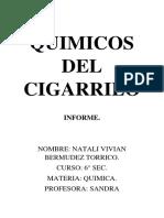 Quimicos Del Cigarrilo