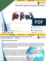 Africa Two Wheeler Market Outlook 2024