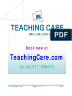 Breakthrough for Students & Parents by Teaching Care for Home Tuition