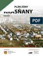 Návrh - Územný plán centrálne Krasňany