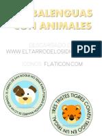 Trabalenguas Con Animales Eltarrodelosidiomas.com