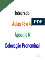 Colocacao Pronominal (1)
