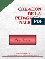 Tamayo Franz - Creacion de La Pedagogia Nacional