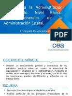 2.4 Bases Generales de La Administración Del Estado - AyT (Clase Principios Legalidad, Responsabilidad y Control)