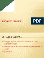PROYECTO DEPORTE 7