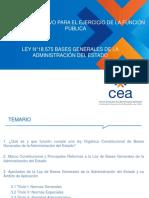 2.4.2 Bases Generales de La Administración Del Estado. Ley 18.575 - AyT (Material Completo)