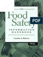 Food Safety Information Handbook - C. Roberts (Oryx, 2001) WW