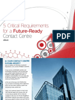 5 Critical Requirements for a Future Ready Contact Centre - eBook