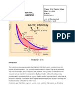 Mechanical p lM3 Determine the Thermal Efficiency of a Carnots