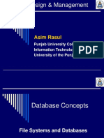File Systems and Databases Chapter 1 (2)