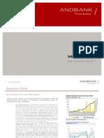 Informe Semanal Andbank 13-11-17