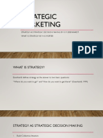 Strategic Marketing Class 1