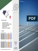 Grupo Unisolar - Tarifas - Estructuras y Anclajes