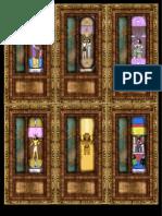Cartas Laberinto de Amon Ra,  Para Rol Hero Quest en A4