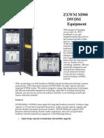 Zxwm m900 Dwdm Equipment