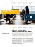 SAP Data Services Text Data Processing Overview
