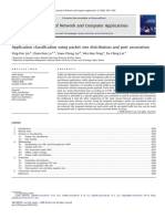 Application Classification Using Packet Size Distribution and Port Association