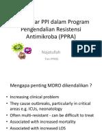 Diskusi Ilmiah Peran Pilar PPI Dalam Program Pengendalian Resistensi Antimikroba
