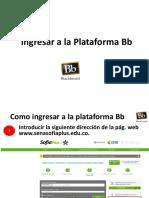 Como Ingresar a La Plataforma Bb