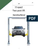 TT 6447 Manual