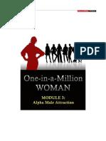 Module 3 - Alpha Male Attraction