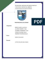 analisis instrumental - Preparacion de soluciones..docx