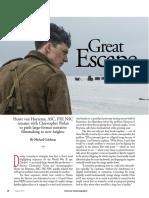 American Filmmaker Great Escape