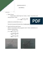 Resume Kalkulus Kelompok 8 - Turunan
