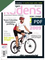 Cykeltidningen Kadens # 2, 2009